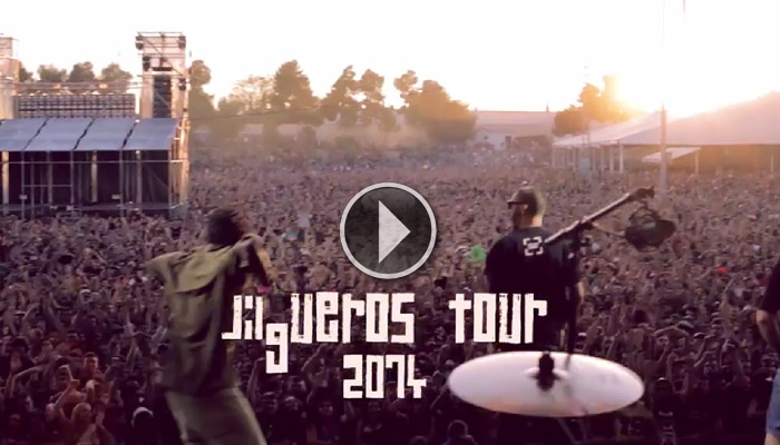 LaRaiz_jilguerosTour2014_video